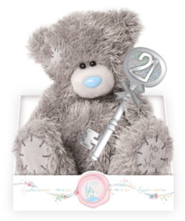 21st Birthday Key Tatty Teddy