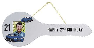 21st Mirror Key with Cars