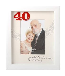 40th Anniversary Frame