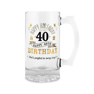 40th Birthday Beer Tankard