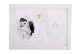 50th Anniversary Collage Photo Frame