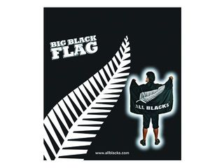 All Blacks Big Black Flag