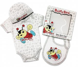 Buzzy Bee New Born Gift Set
