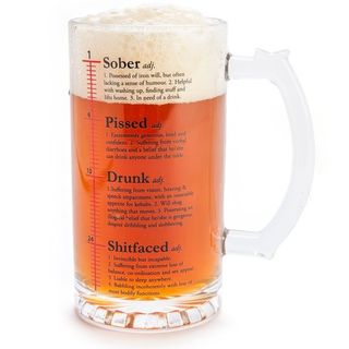 Dictionary Beer Stein
