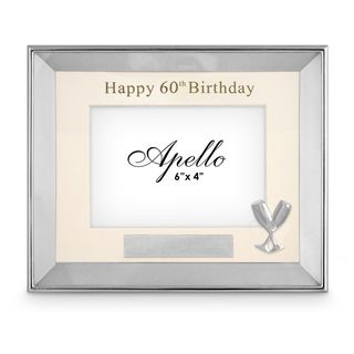 Happy 60th Birthday Photo Frame