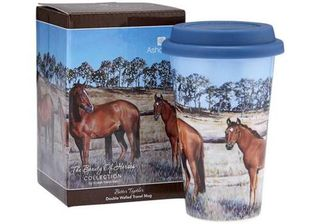 Horses Better Together Travel Mug