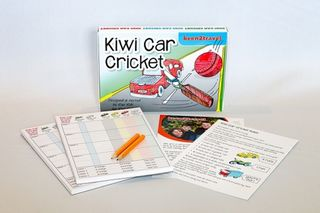 Kiwi Car Cricket Game