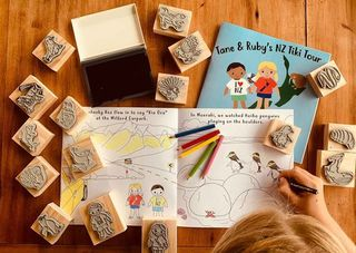 Moana Road Stamp Activity Set