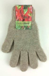 Possum Gloves Natural