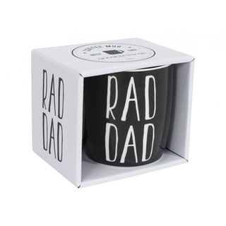 Rad Dad Mug boxed