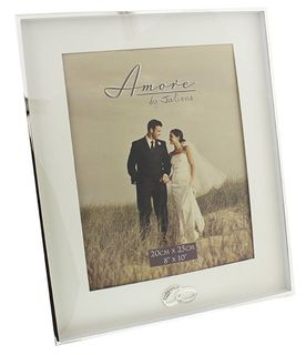 Silver Plated Wedding Frame 8 x 10