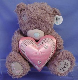 Tatty Teddy Jumbo Wedding Bear