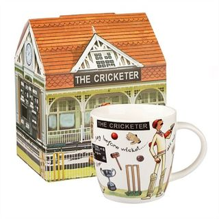 The Cricketer Mug