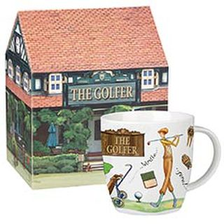The Golfer Mug in Giftbox