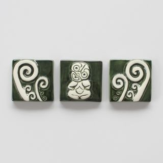 Tiki and Koru Set of 3