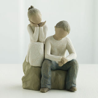 Willow Tree Figurine Brother & Sister