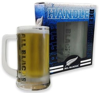 All Blacks Beer Handle