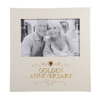 50th Wedding Anniversary Photo Frame