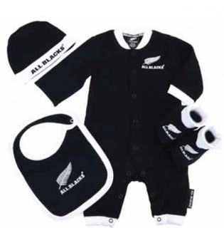 Baby All Blacks 4 Piece Gift Set