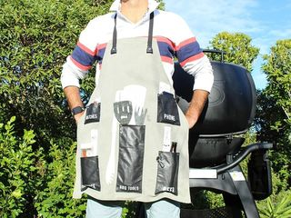 Moana Road BBQ Apron Black or Tan