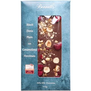 Bennetts Plum Crumble Chocolate Bar