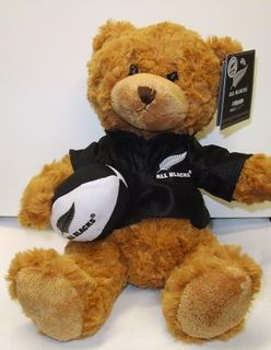 All Blacks Haka Bear