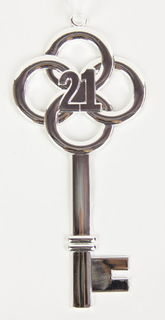 21st Key Small Silver