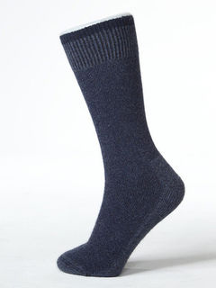 Bushman's Friend Possum Merino Sock - Denim Blue
