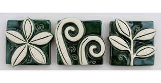 Jenz Tiles Mini Vibrant set of 3 Green