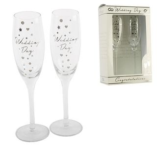 Wedding Glass Flutes