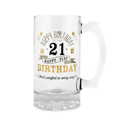 21st Birthday Beer Tankard