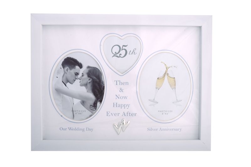 25th Anniversary Collage Photo Frame