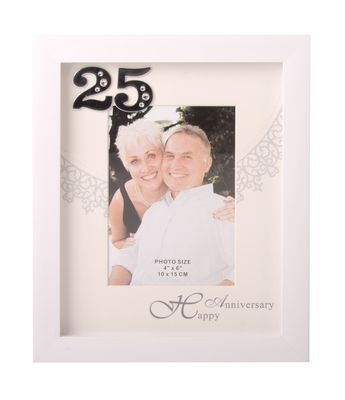 25th Silver Anniversary Frame