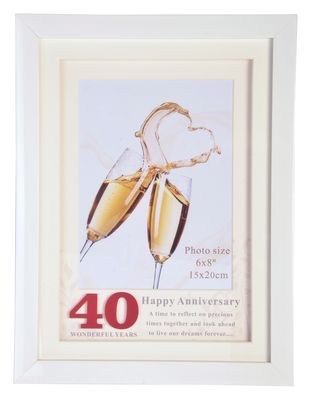 40th Wedding Anniversary Frame