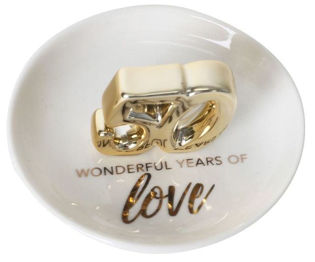 50th Anniversary Trinket Plate