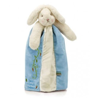 Bunnies By The Bay Buddy Blanket Blue