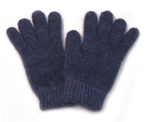Child's Possum Merino Glove Denim