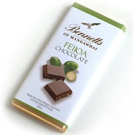 Chocolate Bars - Bennetts Feijoa, Passionfruit, Lemon etc