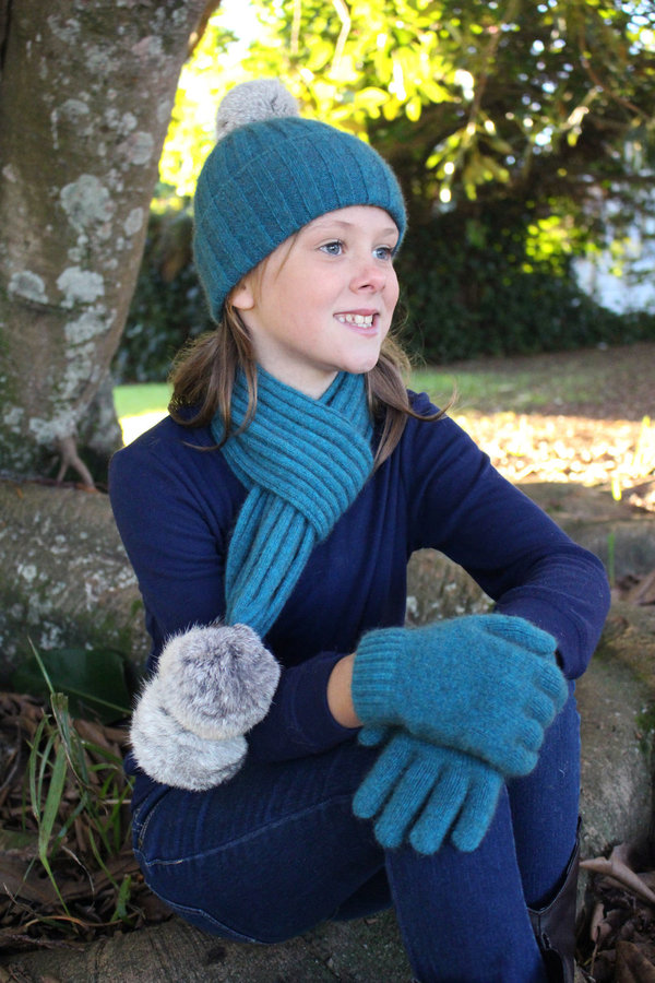 Cottontail Scarf Teal