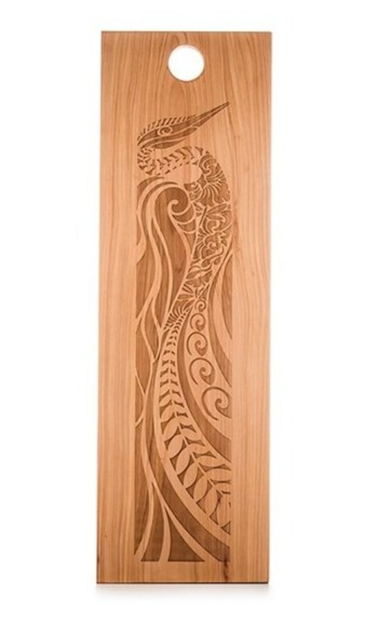 Flox Engraved Wooden Board Large