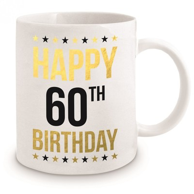 Happy 60th Birthday Mug