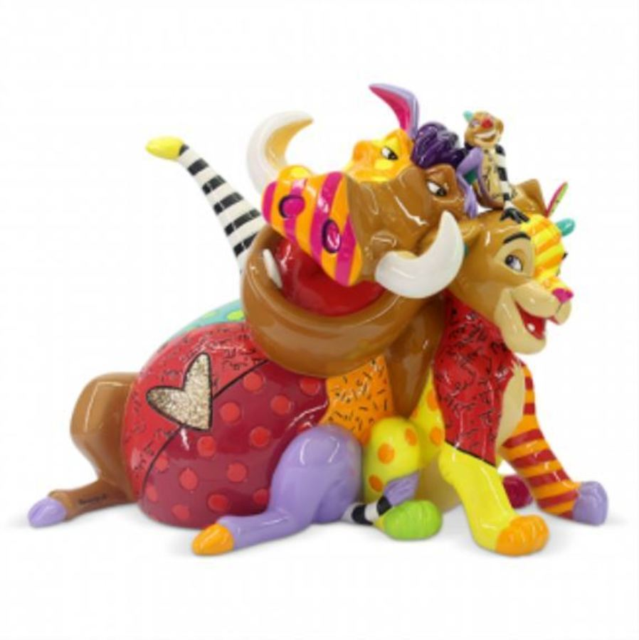 Lion King Figurine by Romero Britto