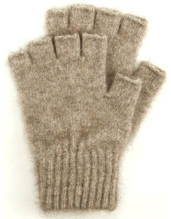 Lothlorian Open Finger Glove Natural