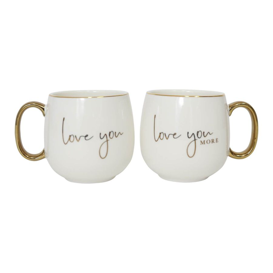 Love You Mug Set