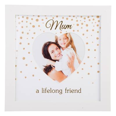Mum A Life Long Friend Photo Frame