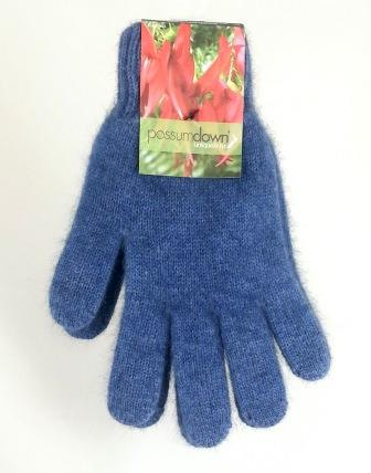 Possum Gloves Aviator Blue
