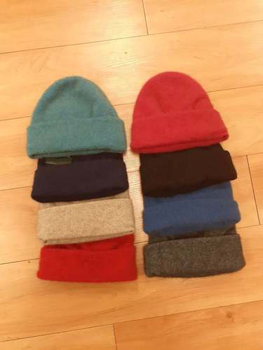 Possum Merino Beanies - assorted colours