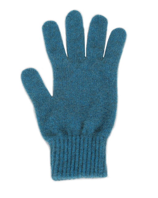 Possum Merino Gloves Teal