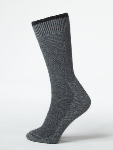 Possum Sock Bushmans Friend Riverstone Grey