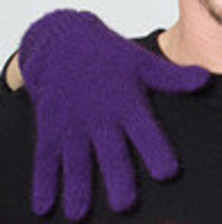 Possum Gloves Amethyst Purple